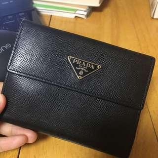 Prada 銀包 購自日本中古店 二手