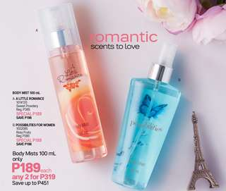 Body Mist for women 100ml