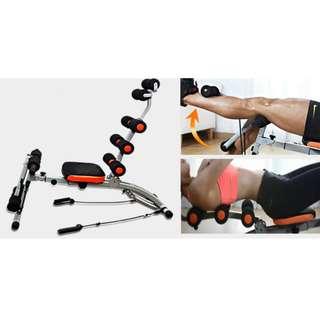 Bfit Six Pack Care Alat Olahraga 10 in 1 Sit Up Bench Pengencang Perut
