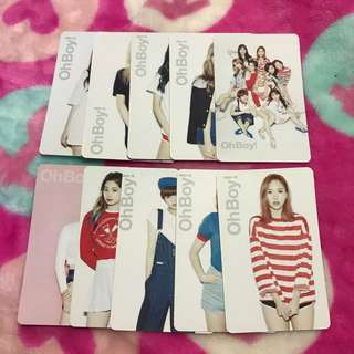 [BUY 5 SET FREE 1 SET] Twice Fanmade Unofficial Photocard Set