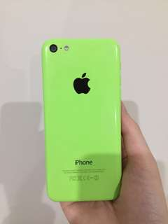 Lime Green IPhone 5c