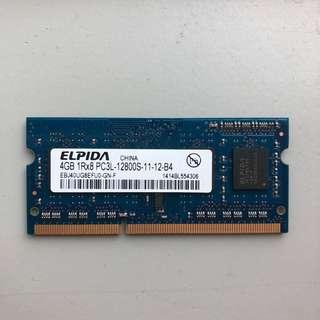 Elpida 4GB RAM DDR3