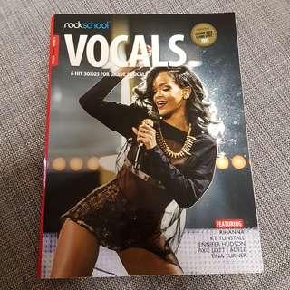 Rockschool Vocals 6 hit songs for female grade 5 vocals