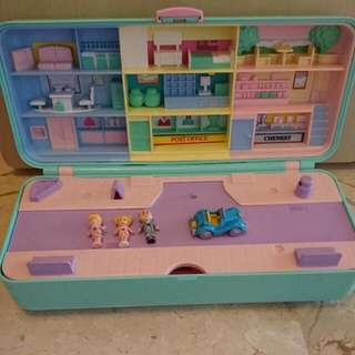 Vintage 100% Complete Polly Pocket Highstreet Moneybox 1989