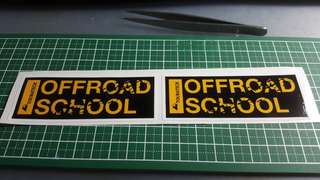 Touratech offroad theme stickers