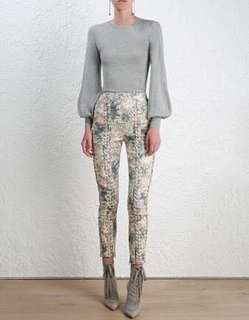 Zimmermann cavalier stovepipe pants size 0