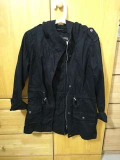 Cotton On Rugged Black Jacket (Thick Cotton)