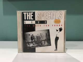 The Special Live Too Much Too Young CD