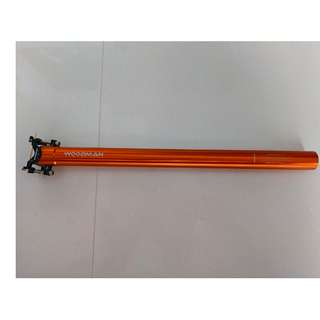 Genuine Woodman super light alloy seatpost (L: 450mm Dia: 30.9mm 225g)