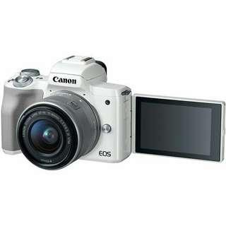 Canon EOS M50 Mirrorless 15-45mm kredit aja gan