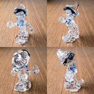 Swarovski Disney Figurine Pinocchio Limited Version in 2010  水晶小木偶