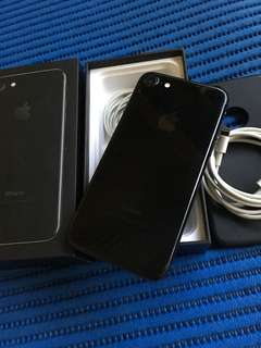 iPhone 7 128gb Jetblack Complete set