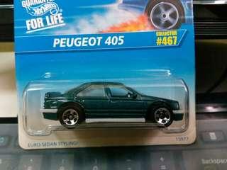 1996 Hotwheels Peugeot 405