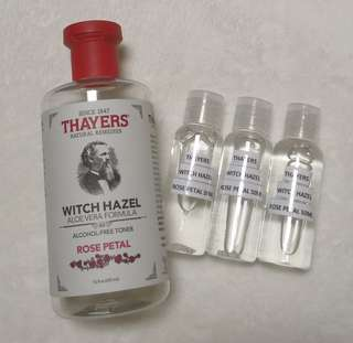 50ML THAYERS WITCH HAZEL TONER