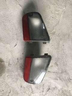 Perodua kenari lampu bumper belakang