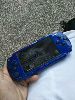 SONY PSP SLIM BLUE