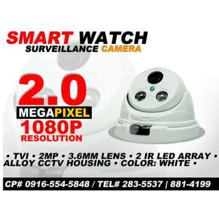 CCTV HD Camera for Indoor with HD Resolution upto 1080p