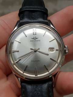 Jam tangan Luxury Vintage Movado Kingmatic Perfect Condition