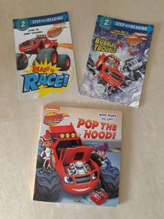 Blaze Monster Machines Books