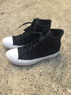 Hightop converse used once!
