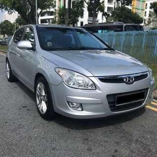 Hyundai i30 1.6A for Rent