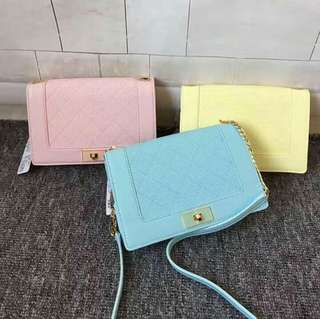 AUTHENTIC CHARLES AND KEITH SLING BAG