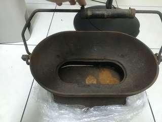 🚚 古董 日劇時代烤肉爐