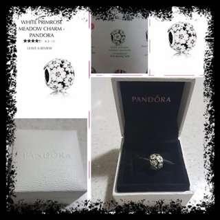 (repriced from 1.5k to 1k)Original Pandora Primrose charm
