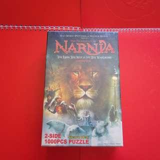 Narnia納尼亞傳奇電影雙面砌圖1000塊 (2005年) (無拆包裝)