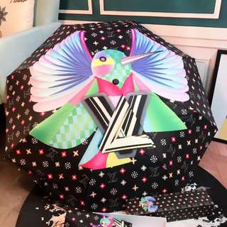 LV Umbrella Lightweight Full UV Protection