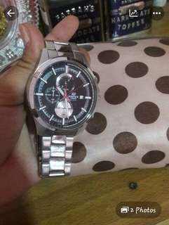 Used Edifice casio watch