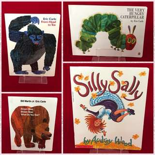 Eric Carle & Scholastic Storybooks