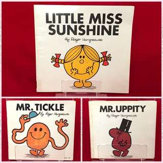Mr. Men Little Miss Book