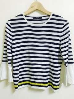 🚚 MANGO 條紋針織衫