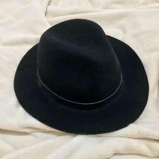 PRELOVED RETRO UNISEX FLAT FEDORA HAT ‼️‼️‼️