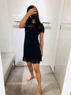 Michael Kors Black Lace Dress