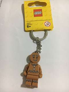 Lego 851394 Gingerbread Man Keychain
