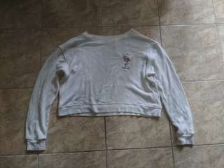 pull and bear sweater crop