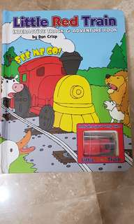 Intetactive Train Book with Tracks