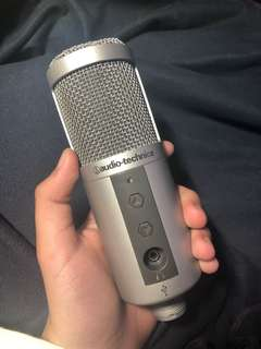 AUDIO TECHNICA USB RECORDING MIC / MICROPHONE