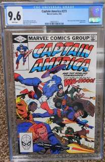 Captain America #273 Marvel CGC Comics 1982