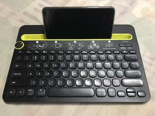 Logitech Bluetooth Multi-Device Keyboard k480 model
