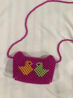 Pink Shoulder Bag for girls