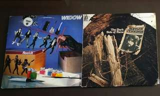 WIDOW ● WAYLON JENNINGS . rockit / the dark side of fame. ( buy 1 get 1 free / moving out sale )  Vinyl record
