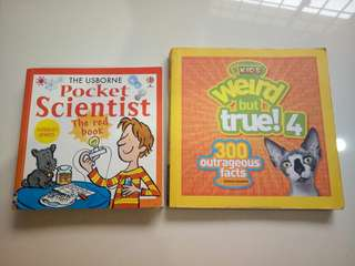 Usborne Pocket Science and National Geographic Kids