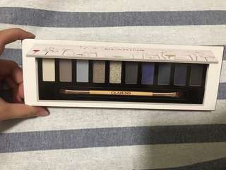 Clarins limited edition eye shadow palette