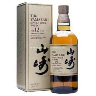 Yamazaki 12 Years Single Malt Whisky 山崎12年單一麥芽威士忌