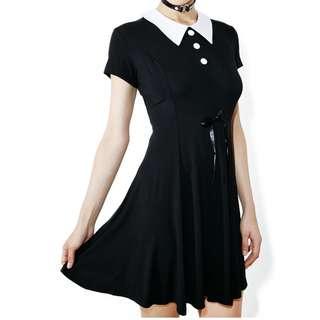 Killstar Black Doll Dress Size S
