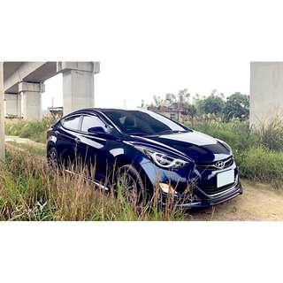 #13年 #Hyundai #Elantra #極光旗艦影音版 1.8L  #寶石藍 #便宜又大碗   #好車事不等人的  #拿起手機它就是你的唯一