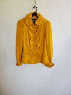 Mustard short coat